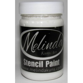 Melinda Stencil Paste White 100ml