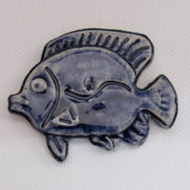 Fish Delft 45 x 55mm Mosaic Inserts