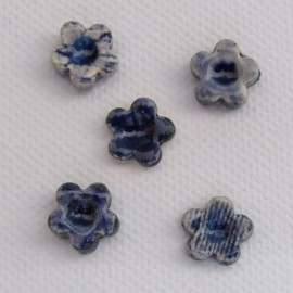 Forget Me Not Small x 5 Delft Mosaic Inserts