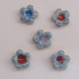 Forget Me Not Small x 5 Blue Mosaic Inserts