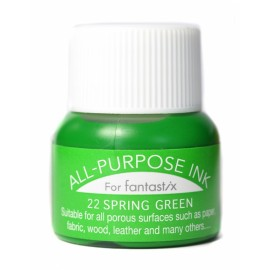 Tsukineko All Purpose ink Spring Green