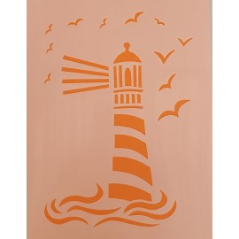 Lighthouse2 Stencil large 300 x 300