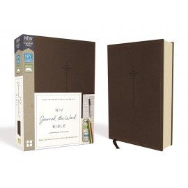 NIV Journal The World Bible (Brown Leathersoft)