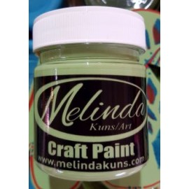 Melinda Craft Paint Light Green100ml