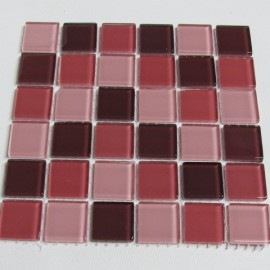 Crystal Glass Berry Mix 23mm Mosaic Tiles