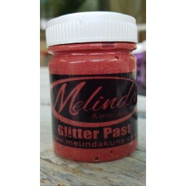 Melinda Glitter Paste Red 60ml