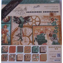 Graphic 45 Steampunk Debutante Collection