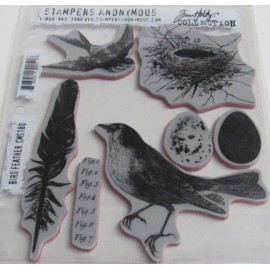 Tim Holtz  Bird Feather