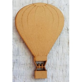 Hot Air Balloon 84 x 54mm Laser