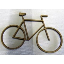 Bicycle 1 60 x 95mm Laser