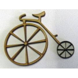Bicycle 3  65 x 65mm Laser