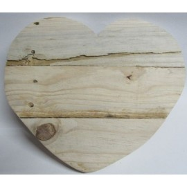 Wood Heart Medium 290 x 340mm