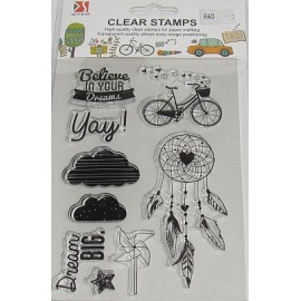 Clear Stamps Bicycle